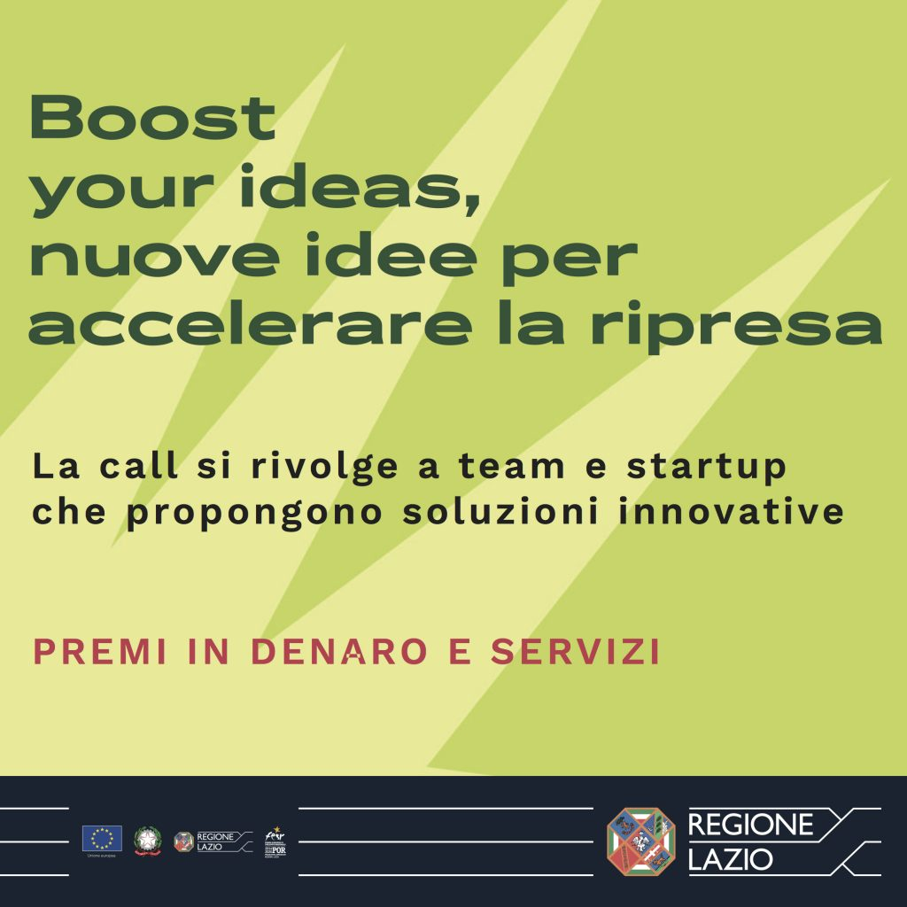 Boost your ideas! 🗓