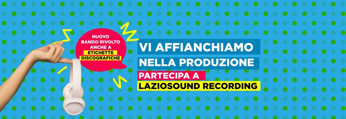 04/01/2021 – Gli Avvisi 2020 di Lazio Sound 🗓