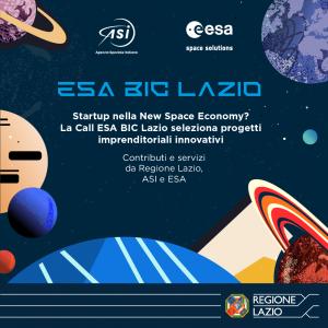 30/03/2021 ore 15.30 – Esa Bic Lazio, Call per startup 🗓