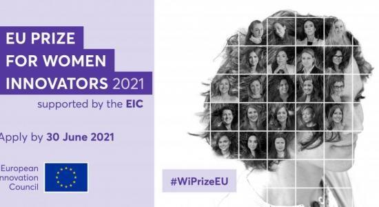 30/06/2021 – Premio UE di Donne Innovatrici 2021