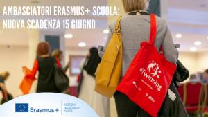 15/06/2021 – Avviso Erasmus+  Scuola 🗓